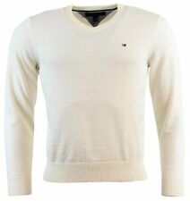- Tommy Hilfiger Mens Long Sleeve Pacific V-Neck Pullover Sweater