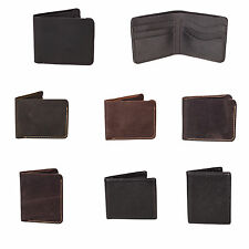 High quality mens Real leather wallets available in various colours