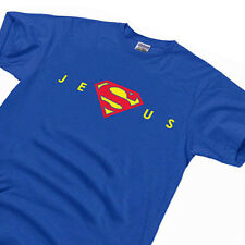 Men's Super Jesus Christ Homeboy Superstar holy bible gift Christian T Shirt