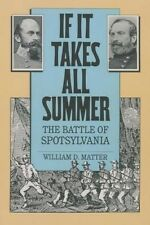 If it Takes All Summer: The Battle of Spotsylvania (Civil War America) by Willia