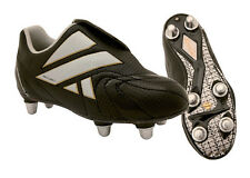 *CLEARANCE* Kooga ProFlash rugby boots - Size 8 - Black - Free P&P