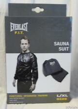 Sweat Sauna Suit Large to X-Large From Everlast F.I.T. Benefits Regular Workout