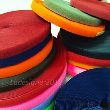 HOOK ONLY/LOOP ONLY 16mm 5 Yards Sew On a type of velcro Fastener Tape
