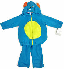 CARTER'S BABY NWT TODDLER 2 PIECE PUFFY FLEECE Monster HALLOWEEN COSTUME - SIZES