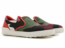 Valentino men's fashion trainers shoes leather fabric camouflage made in Italy