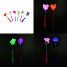LED Magic Star Wand Flashing Lights up Glow Sticks Party Concert Xmas Christmas