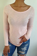 James Perse Knit Top Long Sleeve Size 2,3 NWT $115
