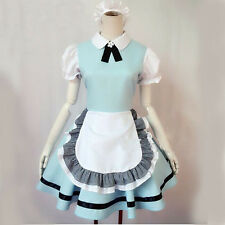 Cosplay Costume Japanese Anime Alice Dresses Lolita Cute Maid Outfit M-XL