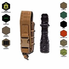 MOLLE SHEATH COMBAT FLASHLIGHT POUCH TACTICAL MULTI-TOOL COVER CORDURA CASE NEW