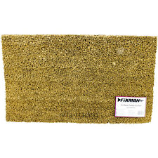 Heavy Duty Coir Mat, Door Entrance, Indoor Outdoor,Boot Wiper Wire Scraper,Large
