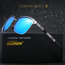 Men Metal Polarized Brand Sunglasses Driving Sports Eyewear Glasses Shades