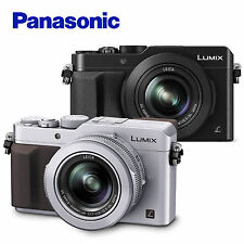 "Panasonic Lumix DMC-LX100 4K Ultra HD 3"" 12.8MP Leica DC Lens Digital Camera"