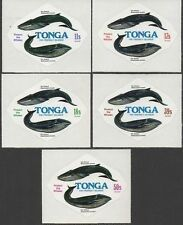 Tonga 1977 SG633 Whale Conservation Airmail set MNH