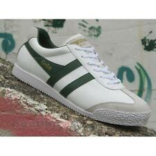 Gola Super Harrier Leather CMA198WN207 Mens Shoes White Green Casual Sneakers
