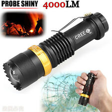 New 4000LM Tactical 3 Modes CREE Q5 AA/14500  ZOOMABLE LED Flashlight Torch US