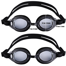 Adjustable UV Protected Goggles Swimming Nearsighted Glasses