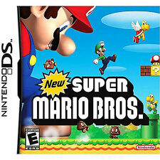 Authentic New Super Mario Bros. Nintendo DS (DS Lite, DSi, 3DS) Cartridge Only