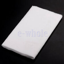 1.5-4 Yards Cotton Cheesecloth White Gauze Fabric Kitchen Cheese Cloth Bleach L8