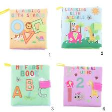 Kids Infant Baby Intelligence Early Development Soft Cognize Cloth Fabric Book