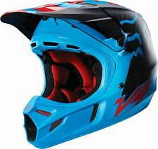 Fox Racing NEW 2016 Mx V4 Libra Blue Red MIPS Adult Motocross Dirt Bike Helmet