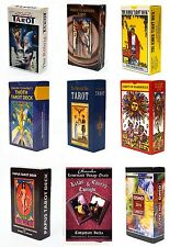Lot 98 Variations of New Tarot Card Deck Sealed English Instruction Booklet