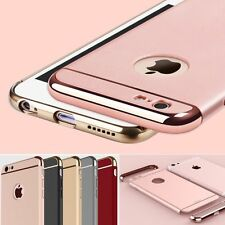 Luxury Metallic Shockproof Acrylic PC Full Cover Case Skin for iPhone 6 6s Plus