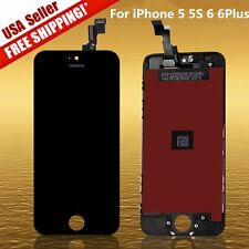 Lot LCD Touch Screen Display Digitizer Assembly Replacement for iPhone 5S 6Plus