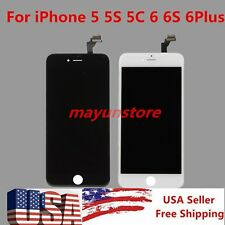For iPhone 5 6 6Plus LCD Display Touch Screen Digitizer Assembly Replacement Lot