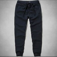 NEW ABERCROMBIE & FITCH PANTS for MEN * A&F Jogger Sweatpants Navy S/L/XL