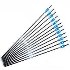 New Fibreglass  Archery Arrows steel tip great for Target Practise