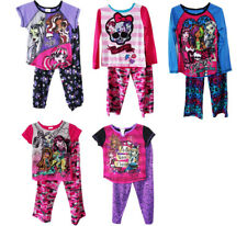 Girls Kids Monster High Sleepwear 2PC Sleepsuits Big Girls Pajamas Set PJ 6-16T