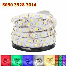 5050 3528 3014 5M SMD 300leds LED Strip Lights Tape Xmas Home Garden Car Decor