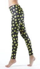 Dinamit Jeans Yellow Flowery Spotted Footless Leggings (See More Sizes)