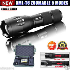 5000LM G700 X800 LED Flashlight Tactical XML-T6 18650/AAA Zoomable Torch Lamp US