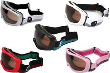 Snow Ski Goggles Snowboard Anti-Fog Wide Lens Motocross Bike Riding WindProof