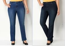 NWT CJ BANKS CHRISTOPHER BANKS TALL CLASSIC  FIT STRAIGHT LEG JEANS $ 46-50