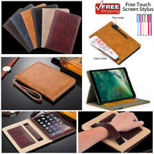 New Luxury PU Leather Wallet Smart Stand Case Cover for iPad 2 3 4 Air1/2 Mini 4