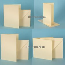 Cream Hammer Card Blanks & Envelopes, premium DIY stationery