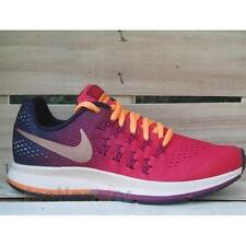 Shoes Nike Air Zoom Pegasus 33 GS 834317 800 Woman Casual Sport Running Ember-Re