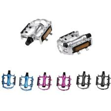 PAIR BICYCLE MOUNTAIN MTB BIKE CYCLING SEALED BEARING ALLOY FLAT-PLATFROM PEDALS