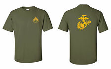 USMC Marines Corporal T-Shirt with EGA