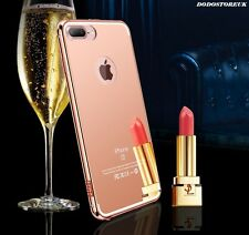 Luxury Ultra-thin Aluminum Mirror Metal Case for iPhone