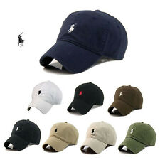 New Hot Polo Cap with Fine Embroidery Small Pony Logo Hat Baseball 100% Cotton