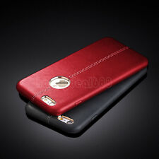 Slim Luxury PU Leather Ultra-thin Back Case Cover For Apple iPhone 7/ 7 Plus 6s