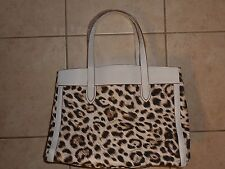 VICTORIAS SECRET LEOPARD LINED TOTE BAG CARRYALL SHOPPER GYM NWT