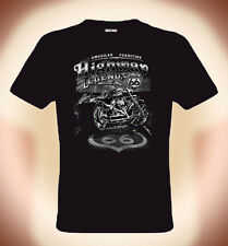 Biker T-Shirt Route 66, Highway Legend, American Tradition, Sizes: S to XXXL