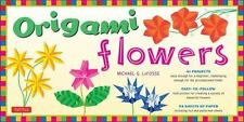 Origami Flowers Kit: [Origami Kit with 2 Books, 98 Papers, 41 Projects] NEW