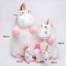 New Despicable Me Plush Toy Fluffy Unicorn Stuffed Animal Doll  Multiple Sizes