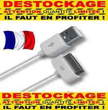 1/100 CABLE RENFORCER  USB CHARGEUR RECHARGE SYNC iPhone 3,3G,3GS,4,4S,iPod Nano