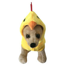 Pet Dog Stereo Chicken Design Costumes Puppy Dog Cat Cute Hoodie Clothes 2 Color